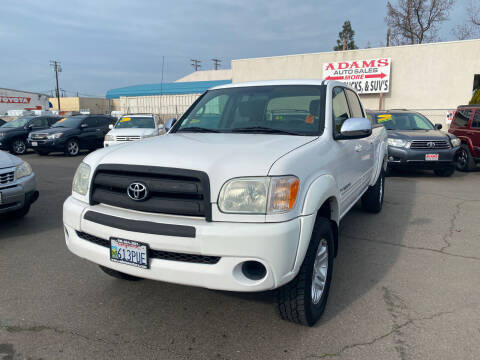 2006 Toyota Tundra for sale at Adams Auto Sales in Sacramento CA