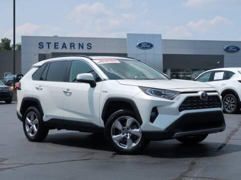 2019 Toyota RAV4 Hybrid for sale at Stearns Ford in Burlington NC