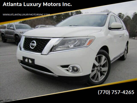 2014 Nissan Pathfinder for sale at Atlanta Luxury Motors Inc. in Buford GA