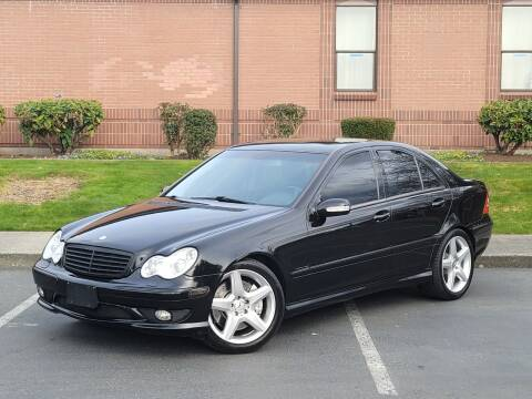 2003 Mercedes-Benz C-Class for sale at SEATTLE FINEST MOTORS in Lynnwood WA