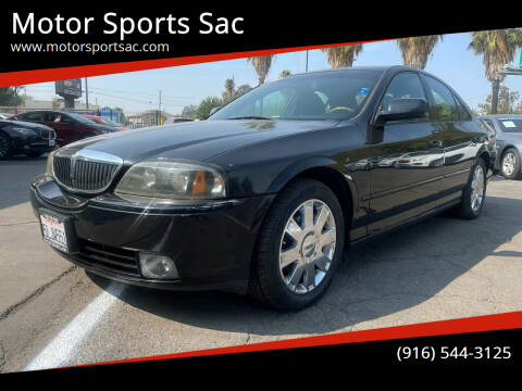 2004 Lincoln LS for sale at Motor Sports Sac in Sacramento CA