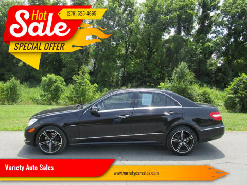 2011 Mercedes-Benz E-Class for sale at Variety Auto Sales in Abingdon VA