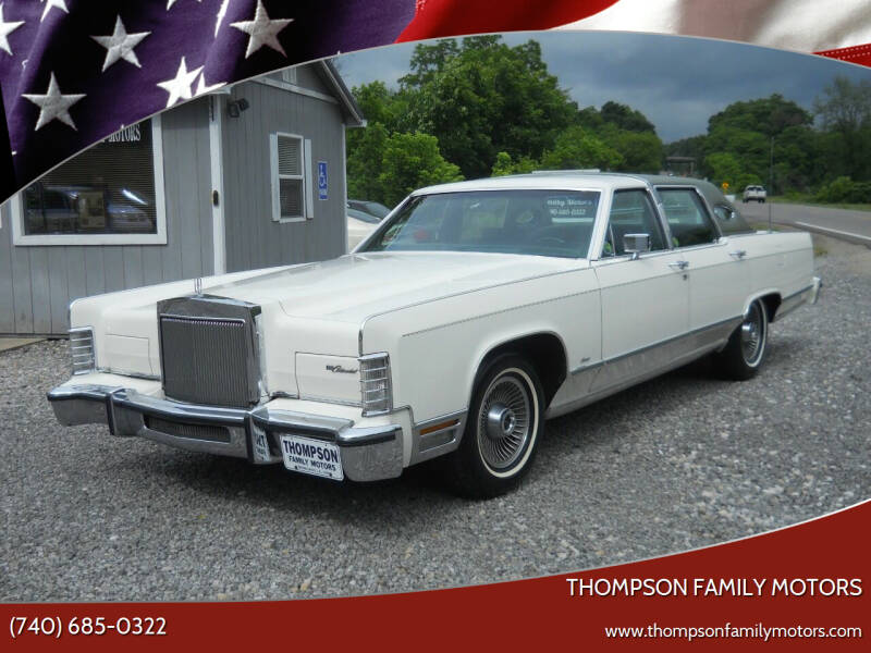 1978 Lincoln Continental for sale at THOMPSON FAMILY MOTORS in Senecaville OH