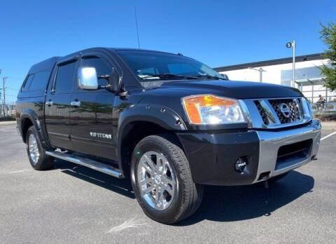 2012 Nissan Titan for sale at Sunset Auto Wholesale in Tacoma WA