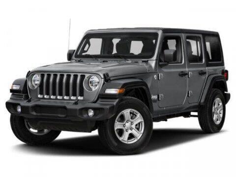 2019 Jeep Wrangler Unlimited for sale at SCOTT EVANS CHRYSLER DODGE in Carrollton GA
