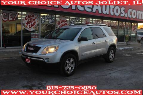 2009 GMC Acadia for sale at Your Choice Autos - Joliet in Joliet IL