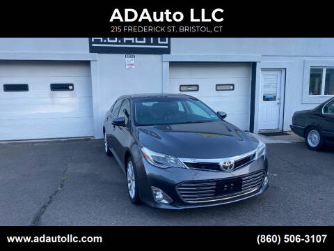2013 Toyota Avalon for sale at ADAuto LLC in Bristol CT