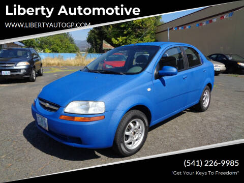 2005 Chevrolet Aveo for sale at Liberty Automotive in Grants Pass OR