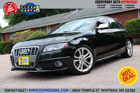 2012 Audi S4 for sale at Auto Sales Express in Whitman MA