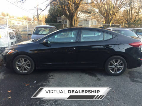 2018 Hyundai Elantra for sale at Excel Auto Sales and Rental in Cheltenham PA