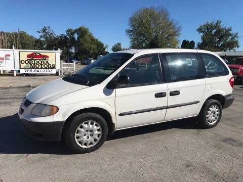 2003 Dodge Caravan for sale at Cordova Motors in Lawrence KS