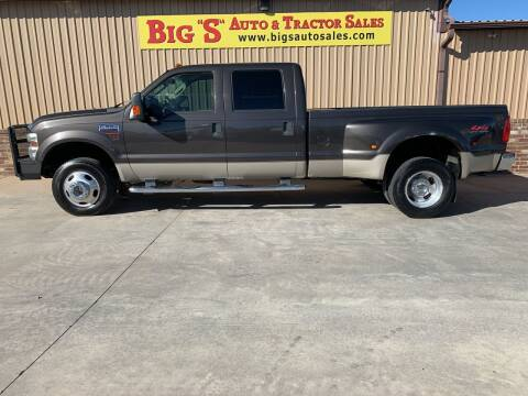 2008 Ford F-350 Super Duty for sale at BIG 'S' AUTO & TRACTOR SALES in Blanchard OK