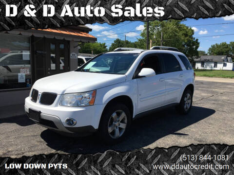 2009 Pontiac Torrent for sale at D & D Auto Sales in Hamilton OH