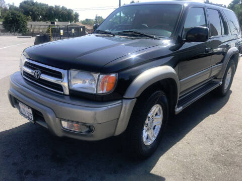 2000 Toyota 4Runner for sale at Quality Car Sales in Whittier CA