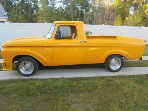 1961 Ford F-100 for sale at Classic Car Deals in Cadillac MI