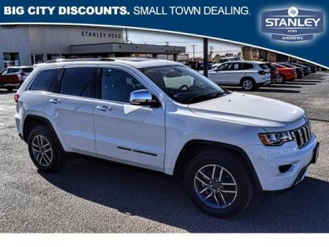 2020 Jeep Grand Cherokee for sale at STANLEY FORD ANDREWS in Andrews TX