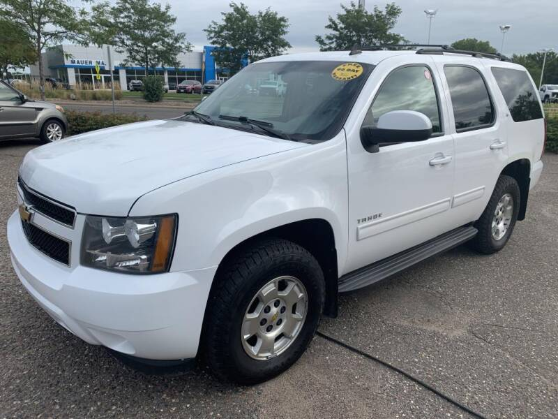 2010 Chevrolet Tahoe for sale at CHRISTIAN AUTO SALES in Anoka MN