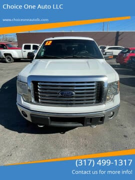 2012 Ford F-150 for sale at Choice One Auto LLC in Beech Grove IN