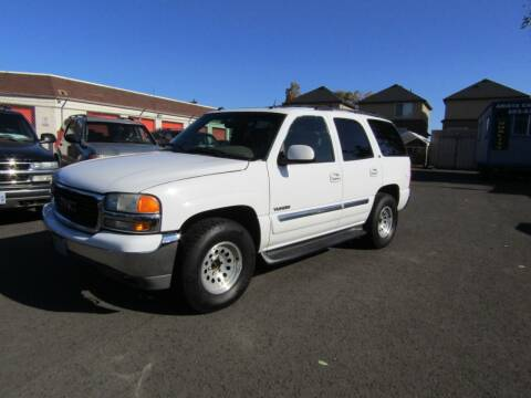 2003 GMC Yukon for sale at ARISTA CAR COMPANY LLC in Portland OR