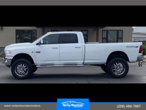 2011 RAM Ram Pickup 3500 for sale at Rocky Mountain Motors in Idaho Falls ID