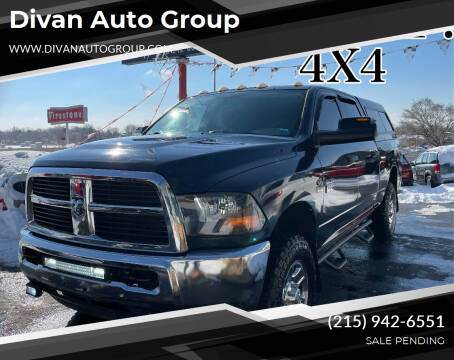 2011 RAM Ram Pickup 2500 for sale at Divan Auto Group in Feasterville Trevose PA