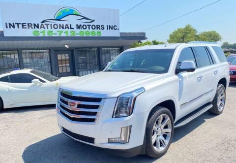 2016 Cadillac Escalade for sale at International Motors Inc. in Nashville TN