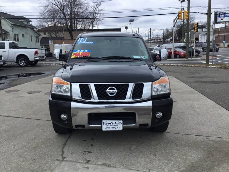 2010 Nissan Titan for sale at Steves Auto Sales in Little Ferry NJ