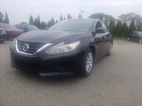 2016 Nissan Altima for sale at East Providence Auto Sales in East Providence RI