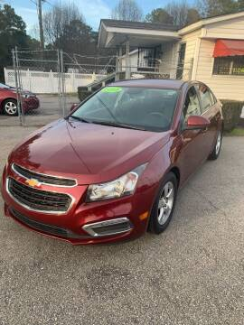 2015 Chevrolet Cruze for sale at World Wide Auto in Fayetteville NC