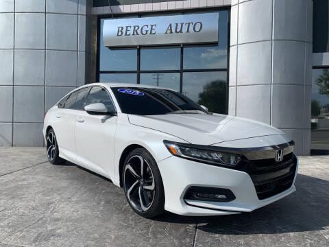 2018 Honda Accord for sale at Berge Auto in Orem UT