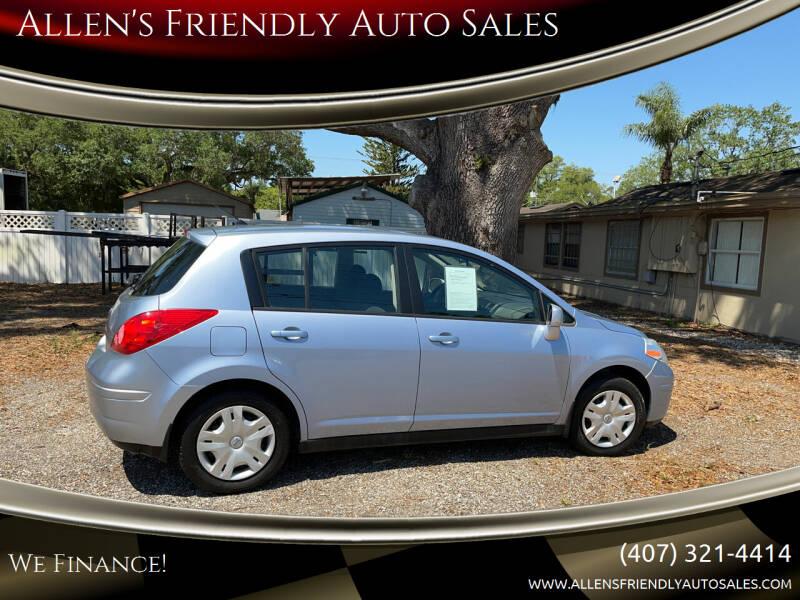 2010 Nissan Versa for sale at Allen's Friendly Auto Sales in Sanford FL