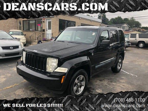 2008 Jeep Liberty for sale at DEANSCARS.COM in Bridgeview IL