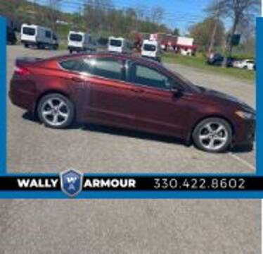2016 Ford Fusion for sale at Wally Armour Chrysler Dodge Jeep Ram in Alliance OH