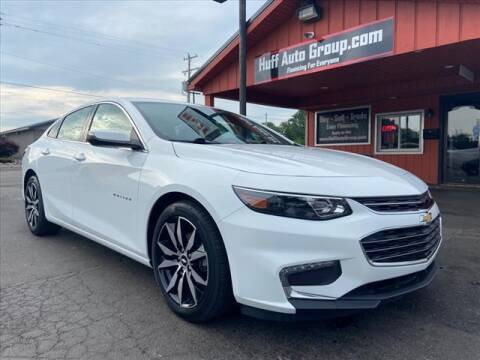 2017 Chevrolet Malibu for sale at HUFF AUTO GROUP in Jackson MI