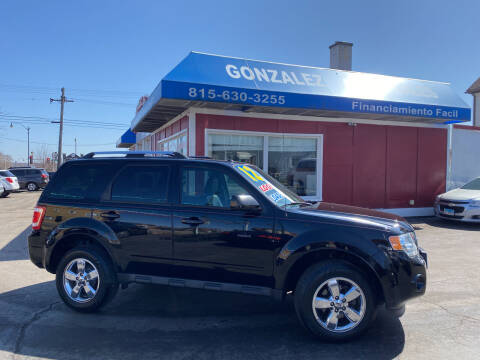 2012 Ford Escape for sale at Gonzalez Auto Sales in Joliet IL