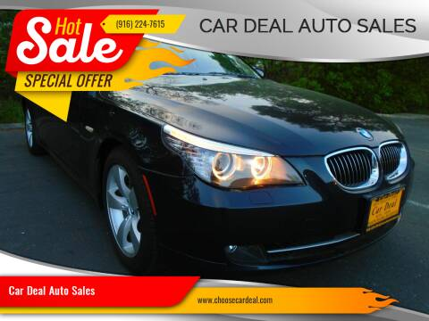 2008 BMW 5 Series for sale at Car Deal Auto Sales in Sacramento CA