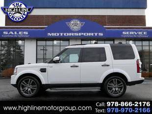 2016 Land Rover LR4 for sale at Highline Group Motorsports in Lowell MA