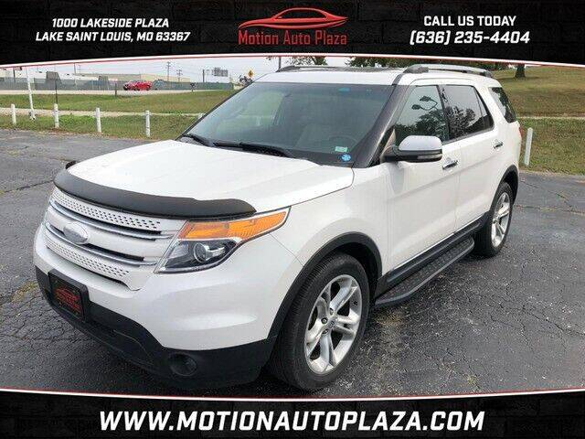 2011 Ford Explorer for sale at Motion Auto Plaza in Lakeside MO