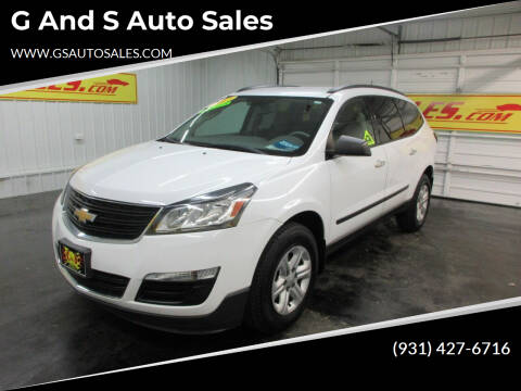 2017 Chevrolet Traverse for sale at G and S Auto Sales in Ardmore TN