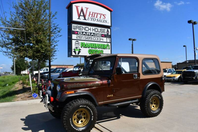 1985 Jeep CJ-7 for sale at WHITT'S AUTO SALES, LLC in Houston TX