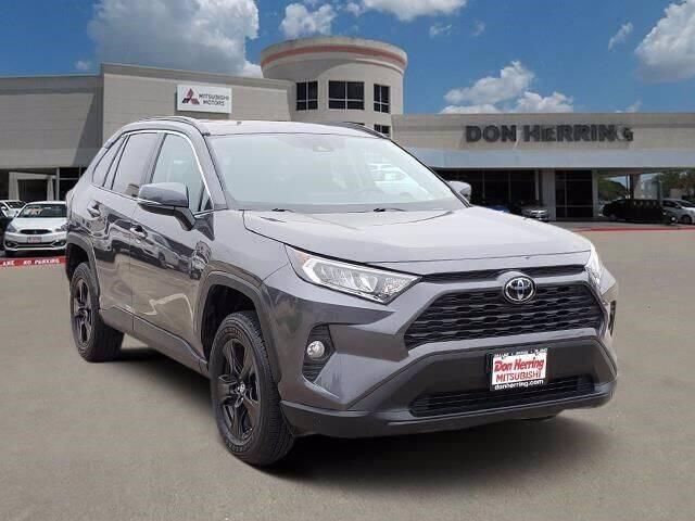 2019 Toyota RAV4 for sale at Don Herring Mitsubishi in Plano TX