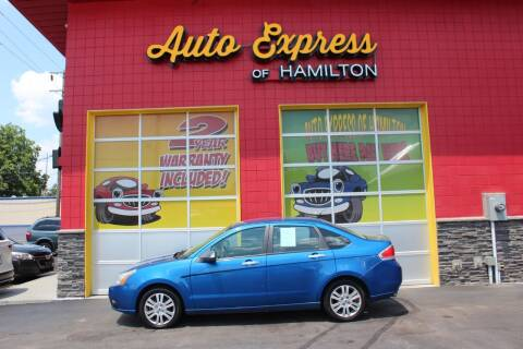 2011 Ford Focus for sale at AUTO EXPRESS OF HAMILTON LLC in Hamilton OH