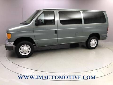 2006 Ford E-Series Wagon for sale at J & M Automotive in Naugatuck CT