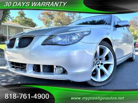 2008 BMW 5 Series for sale at Prestige Auto Sports Inc in North Hollywood CA
