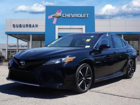 2018 Toyota Camry for sale at Suburban Chevrolet of Ann Arbor in Ann Arbor MI