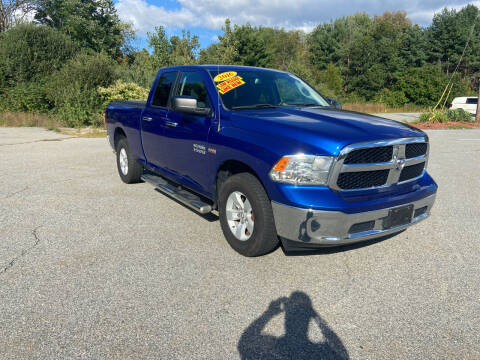 2016 RAM Ram Pickup 1500 for sale at Westford Auto Sales in Westford MA