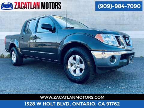 2011 Nissan Frontier for sale at Ontario Auto Square in Ontario CA