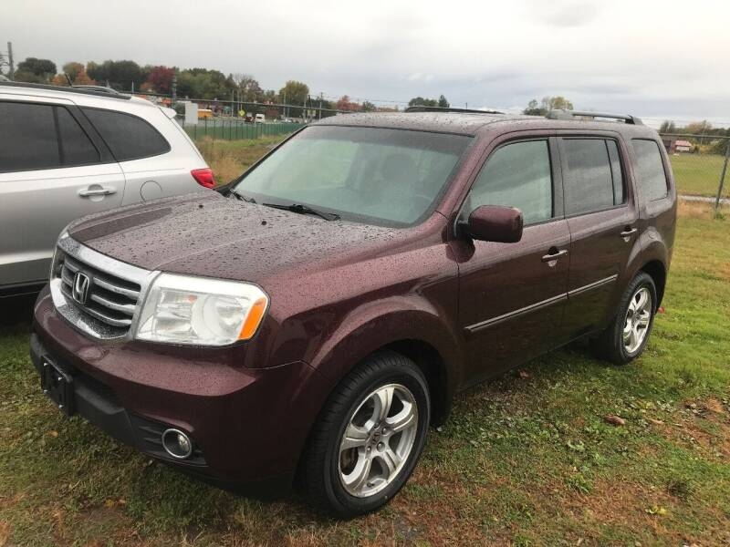2012 Honda Pilot for sale at RJD Enterprize Auto Sales in Scotia NY