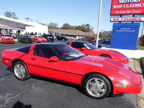 1989 Chevrolet Corvette for sale at Carolina Classics & More in Thomasville NC