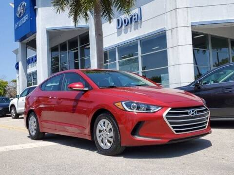 2018 Hyundai Elantra for sale at DORAL HYUNDAI in Doral FL